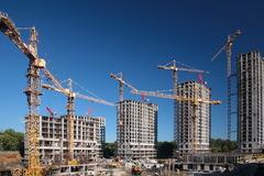 В России впервые за пять лет стали вводить больше жилья
