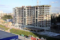 Объем ввода жилья в России увеличился на 6%