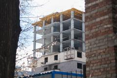 В России за первый квартал 2021-го года разрешили построить 7,2 миллиона квадратных метров жилья
