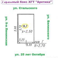 Капитальный гараж,  ул. Сулеймана Стальского, 6/3-фото1