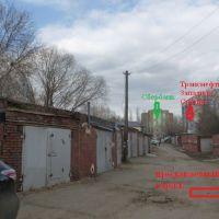 Капитальный гараж,  тер. ГСК Омич-1 (САО)-фото1