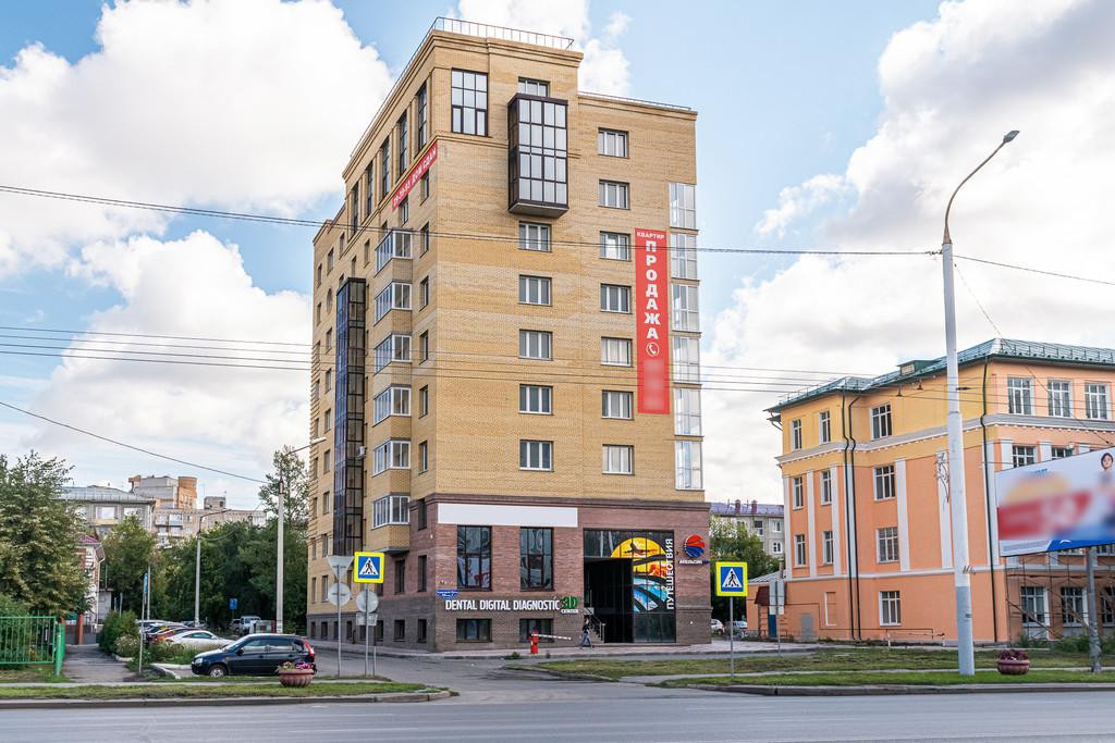 Жилой комплекс-Дом на ул. Красный путь, 36 к1