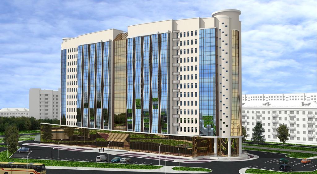 Жилой комплекс-Апарт-отель на ул. Жукова