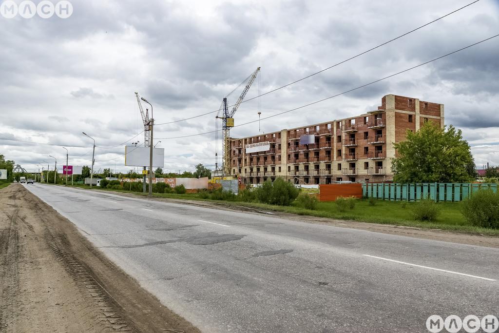 Жилой комплекс-Дома на Луговой