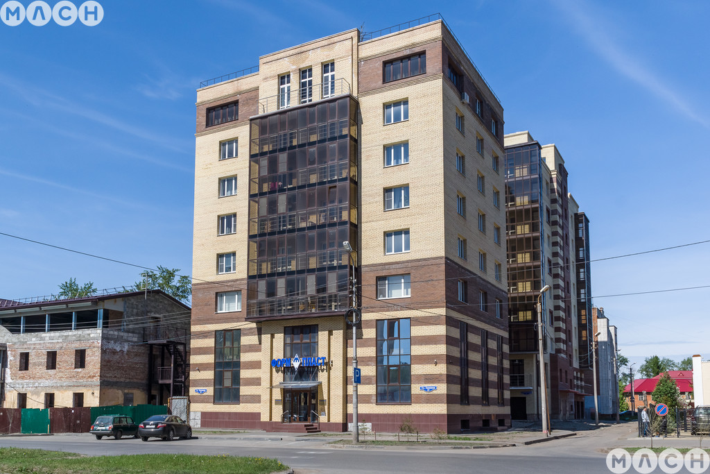 Жилой комплекс-Дом на ул. Комбинатский пер., 2