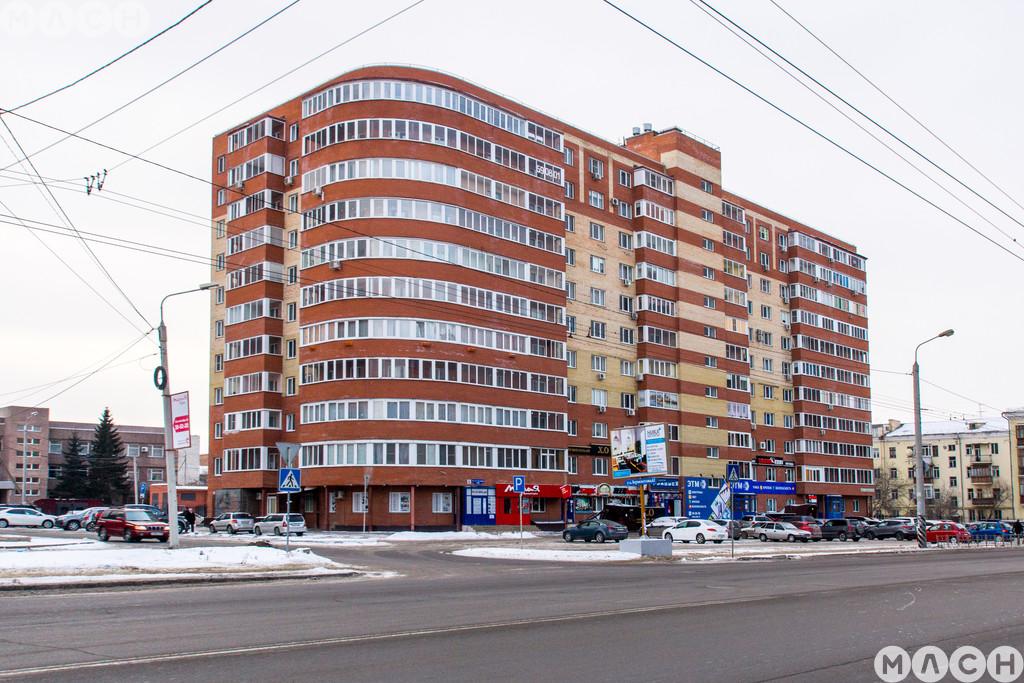 Жилой комплекс-Дом на ул. 10 лет Октября, 50