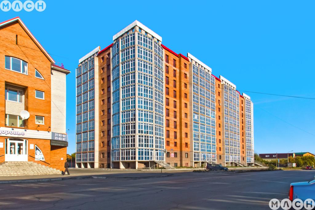 Жилой комплекс-Дом на ул. Октябрьская, 159
