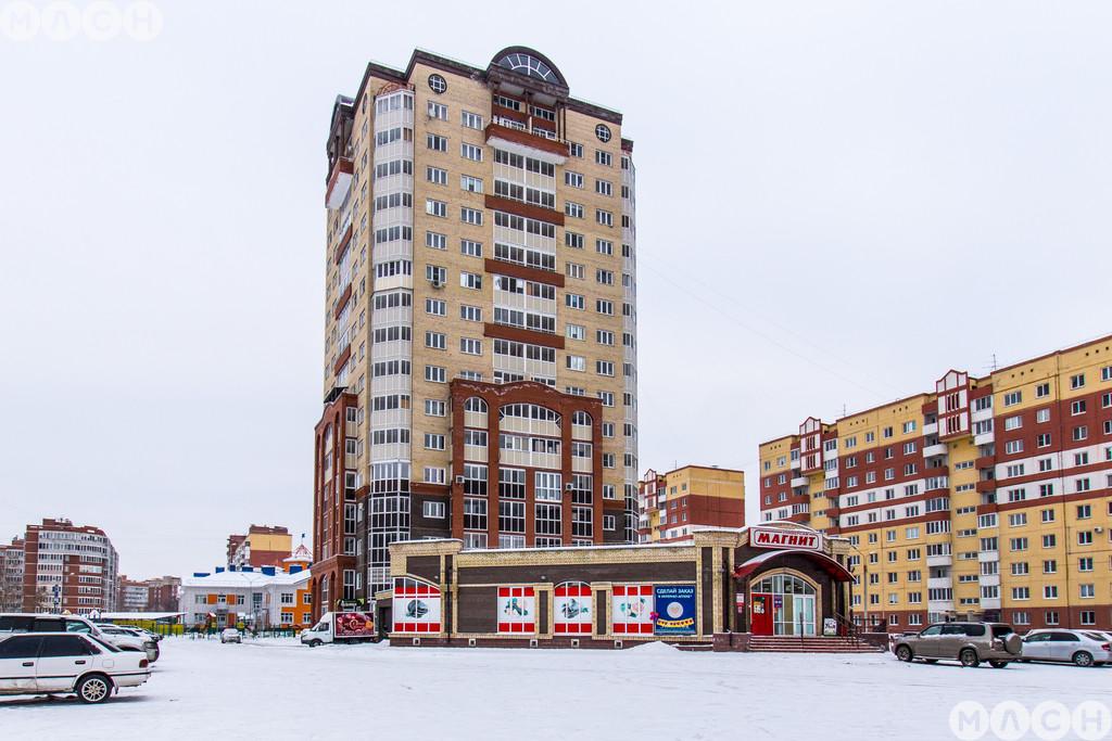 Жилой комплекс-Дом на пр. Космический 18А к5