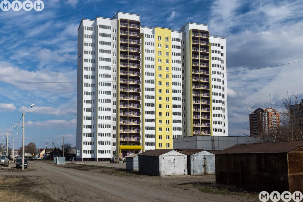 Жилой комплекс-Дом на ул. Съездовская
