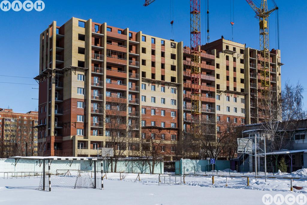 Жилой комплекс-Дом на пр. Комарова, 13 к1