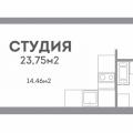 1-комнатная квартира, УЛ. АРТЕЛЬНАЯ