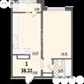 1-комнатная квартира, УЛ. ЗАКАЛУЖСКАЯ, 11