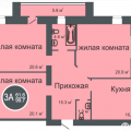 3-комнатная квартира, УЛ. СУХОДОЛЬСКАЯ, 23