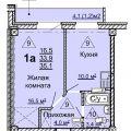 1-комнатная квартира,  тракт. Иркутский, 216