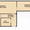 2-комнатная квартира, 1-й проезд Стасова 35