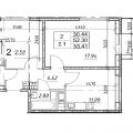 2-комнатная квартира, Ш. МОСКОВСКОЕ, 274