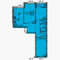 2-комнатная квартира, БОРОДИНА , 43