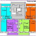 1-комнатная квартира, УЛ. ПЕРЕЛЕТА, 25