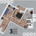 3-комнатная квартира, ПР-КТ. МОСКОВСКИЙ, 104В