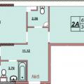 2-комнатная квартира, УЛ. СТАНИСЛАВСКОГО