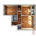 2-комнатная квартира, УЛ. МЕНДЕЛЕЕВА, 150