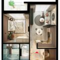 1-комнатная квартира, ул. Молодой Гвардии