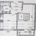 1-комнатная квартира, д. Янино-2, ул. Холмистая, 3