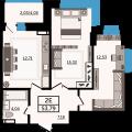 2-комнатная квартира, УЛ. МАКСИМА ГОРЬКОГО, 250