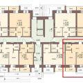 2-комнатная квартира,  п. Биофабрика, 19  к1