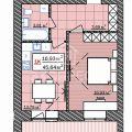 1-комнатная квартира, УЛ. ИНТЕРНАЦИОНАЛЬНАЯ, 199 К1