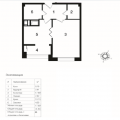 1-комнатная квартира, ПР-КТ. НОВОЧЕРКАССКИЙ, 33 К4