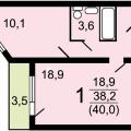 1-комнатная квартира, П. КОММУНАРКА, УЛ. ЛАЗУРНАЯ, 10