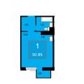 1-комнатная квартира, УЛ. ПЕТРА ЛОМАКО, 14