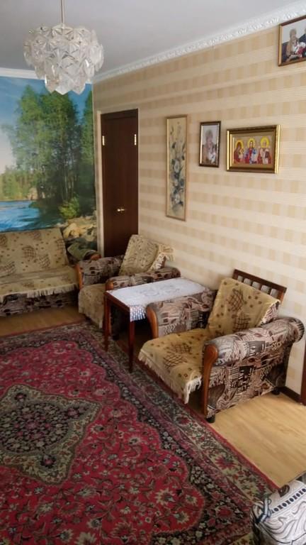 Продается трехкомнатная квартира за 1 780 000 рублей. Омск, Центральный, ул. Багратиона, 25.