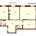 3-комнатная квартира, УЛ. КИРОЧНАЯ, 57