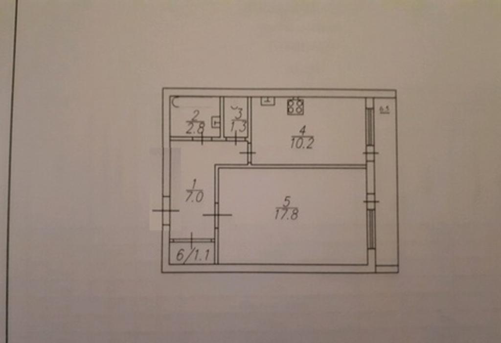 Продается однокомнатная квартира за 1 650 000 рублей. г Саратов, ул им Батавина П.Ф., д 12.