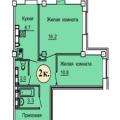 2-комнатная квартира, г Омск, б-р Архитекторов