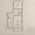 2-комнатная квартира,  ул. 3-я Станционная, 71