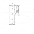 2-комнатная квартира,  Багратиона, 15Б