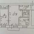 2-комнатная квартира,  ул. Красина, 1