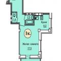 1-комнатная квартира,  б-р Архитекторов, д 1Г