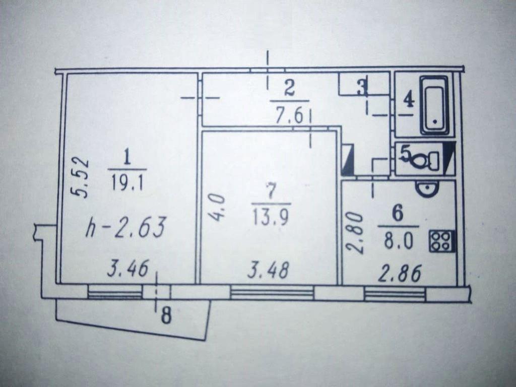 Объявление №11250310 - продажа 2-комнатной квартиры в Омске, ул. Степанца 12, 54 м². - MLSN.RU Омск