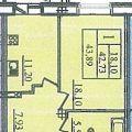1-комнатная квартира,  ул. Красной Звезды 1-я, 5с