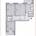 3-комнатная квартира, ПР-КТ. ПОБЕДЫ, 101
