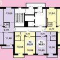 2-комнатная квартира, УЛ. МАЛИНОВСКОГО, 10 К1
