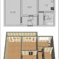 2-комнатная квартира, УЛ. ГАЗОВИКОВ, 24