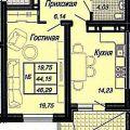 1-комнатная квартира, УЛ. СТАХАНОВСКАЯ, 111