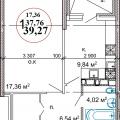 1-комнатная квартира, УЛ. ТЕПЛИЧНАЯ, 101