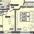1-комнатная квартира,  УЛ. ДАЛЬНЯЯ, 10