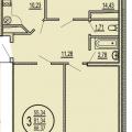 3-комнатная квартира, УЛ. КРАСНЫХ ПАРТИЗАН, 10